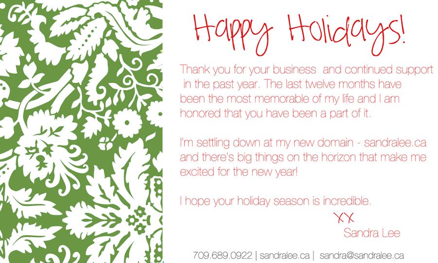 Happy Holidays | Sandra-Lee Photography